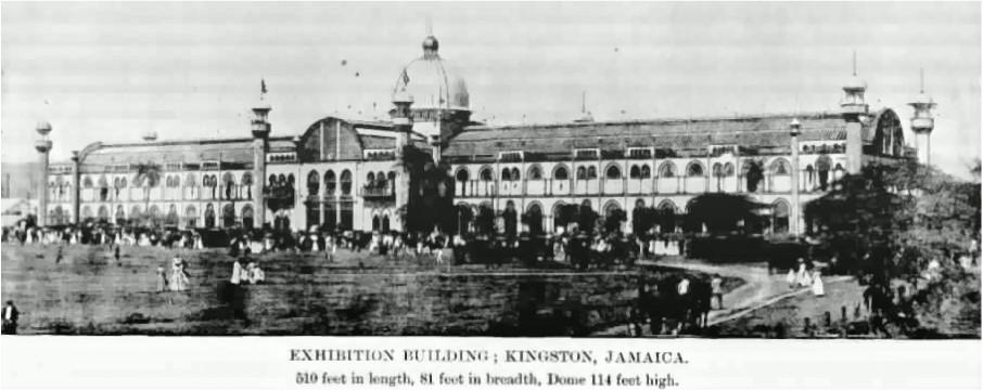 bâtiment exposition internationale jamaïque