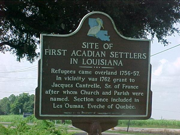 Premiers colons acadiens de Louisiane