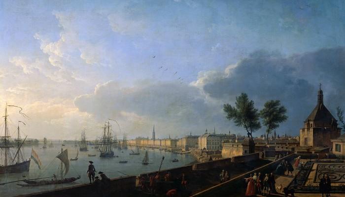 Nouvelle-Aquitaine. Relations avec la Nouvelle-France