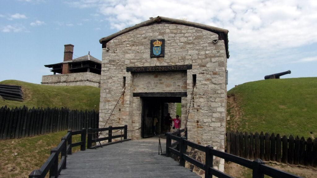 Porte d'entrée du Fort Niagara