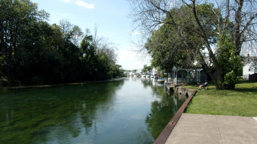 La petite rivière Niagara