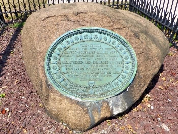 plaque ancien site oswego